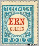 Nederland NL P12  1881 Portzegel 100 cent  Gestempeld