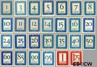 Nederland NL P80#P106  1947 Portzegel  cent  Gestempeld