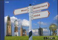 Nederland NL PR20  2008 Mooi Nederland- Verzamelvel  cent  Postfris