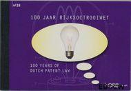 Nederland NL PR28  2010 Rijksoctroowet  cent  Postfris