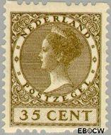 Nederland NL R30  1926 Type 'Veth' 35 cent  Gestempeld