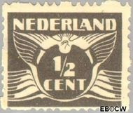 Nederland NL R33  1928 Type 'Lebeau' ½ cent  Gestempeld
