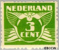Nederland NL R38  1928 Type 'Lebeau' 3 cent  Gestempeld