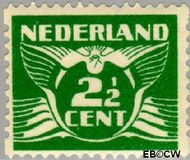 Nederland NL R61  1930 Type 'Lebeau' 2½ cent  Gestempeld