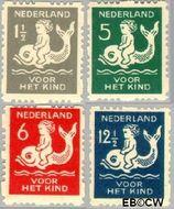 Nederland NL R82#R85  1929 Voor het kind  cent  Gestempeld