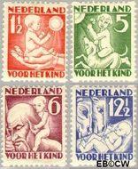 Nederland NL R86#R89  1930 Jaargetijden  cent  Gestempeld