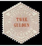 Nederland NL TG12  1877 Betaling telegraaf 200 cent  Gestempeld