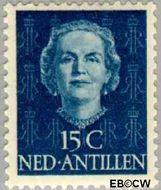 Nederlandse Antillen NA 222  1950 Type 'En Face' 15 cent  Gestempeld