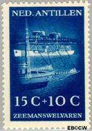 Nederlandse Antillen NA 242  1952 Zeemanswelvaren 15+10 cent  Gestempeld