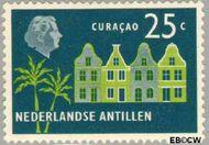 Nederlandse Antillen NA 282  1958 Landschappen 25 cent  Gestempeld