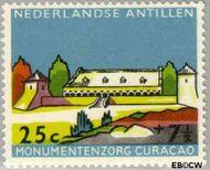Nederlandse Antillen NA 302  1959 Monumentenzorg 25+7½ cent  Gestempeld