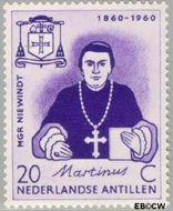 Nederlandse Antillen NA 312  1960 Sterfdag Niewindt 20 cent  Gestempeld