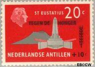 Nederlandse Antillen NA 333  1963 Anti-honger campagne V.N. 20+10 cent  Gestempeld