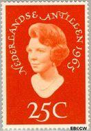 Nederlandse Antillen NA 353  1965 Bezoek Prinses Beatrix 25 cent  Gestempeld