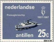 Nederlandse Antillen NA 383  1967 Vereniging 'Onze Vloot' 25 cent  Gestempeld