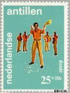Nederlandse Antillen NA 413  1969 Folklore 25+10 cent  Gestempeld