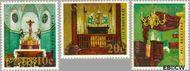 Nederlandse Antillen NA 423#425  1970 Kerken 30 cent  Postfris