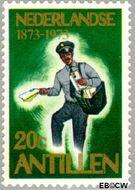 Nederlandse Antillen NA 473  1973 Postzegeljubileum 20 cent  Gestempeld