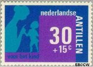 Nederlandse Antillen NA 483  1973 Hulp en zorg 30+15 cent  Gestempeld