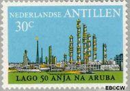 Nederlandse Antillen NA 493  1974 Olie-industrie 30 cent  Gestempeld