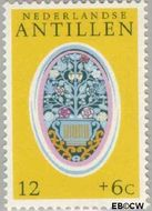 Nederlandse Antillen NA 503  1975 Ornamenten 12+6 cent  Gestempeld