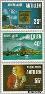 Nederlandse Antillen NA 528#530  1976 Onafhankelijkheid U.S.A.  cent  Gestempeld