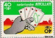Nederlandse Antillen NA 543  1977 Amphilex '77 40+18 cent  Gestempeld