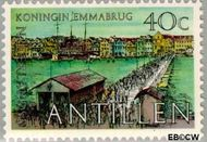 Nederlandse Antillen NA 603  1978 Smith, Leonard B. 40 cent  Gestempeld