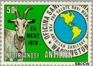Nederlandse Antillen NA 618  1979 Vergadering P.A.H.O. 50 cent  Gestempeld
