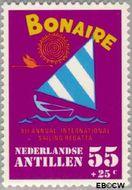 Nederlandse Antillen NA 628  1979 Sailing Regatta 55 cent  Gestempeld