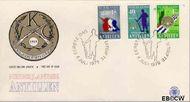 Nederlandse Antillen NA E123  1979 Vrijwilligers Korps  cent  FDC zonder adres