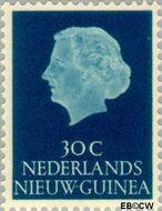 Nieuw-Guinea NG 31  1954 Type 'En Profile' 30 cent  Gestempeld