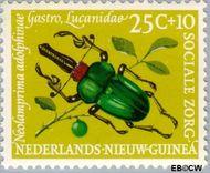 Nieuw-Guinea NG 71  1961 Sociale zorg 25+10 cent  Gestempeld