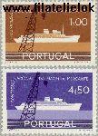 POR 870#871 Postfris 1958 Congres handelsvaart