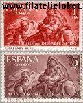 SPA 1221#1222 Postfris 1961 Wereld Vluchtelingenjaar