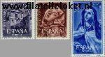 SPA 1314#1316 Postfris 1962 Avila, Therese von