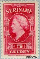 Suriname SU 242  1945 Koningin Wilhelmina 500 cent  Gestempeld