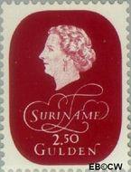 Suriname SU 333  1959 Koningin Juliana 250 cent  Gestempeld
