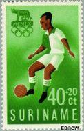 Suriname SU 353  1960 Olympisch Comité 40+20 cent  Gestempeld