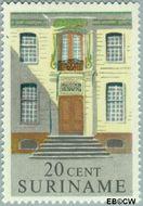 Suriname SU 363  1961 Historische gebouwen 20 cent  Gestempeld