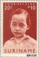 Suriname SU 401  1963 Surinaamse kinderen 20+10 cent  Gestempeld