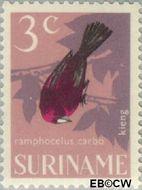Suriname SU 441  1966 Vogels 3 cent  Gestempeld