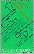 Suriname SU 561  1971 Telecommunicatie 15 cent  Gestempeld