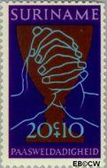 Suriname SU 581  1972 Paassymbolen 20+10 cent  Gestempeld