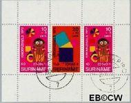 Suriname SU 591  1972 Onderwijs  cent  Gestempeld