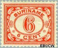 Suriname SU 81  1913 Drukwerkzegel 6 cent  Gestempeld