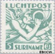 Suriname SU LP18  1941 Mercurius 500 cent  Gestempeld