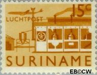 Suriname SU LP36  1965 Landschappen 15 cent  Gestempeld