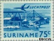 Suriname SU LP46  1965 Landschappen 75 cent  Gestempeld