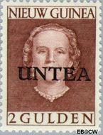 West-Nieuw-Guinea NG WNG10  1962 UNTEA opdruk 200 cent  Gestempeld